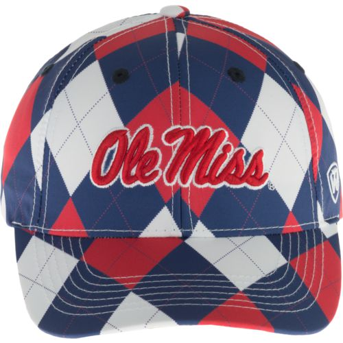 Top of the World Men's University of Mississippi Out Loud 3-Tone Cap