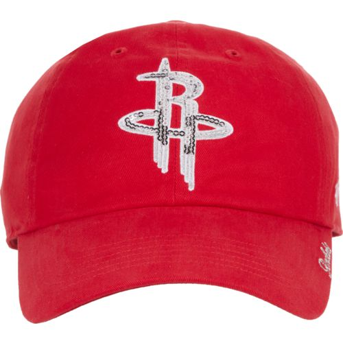 '47 Houston Rockets Women's Sparkle Clean Up Cap