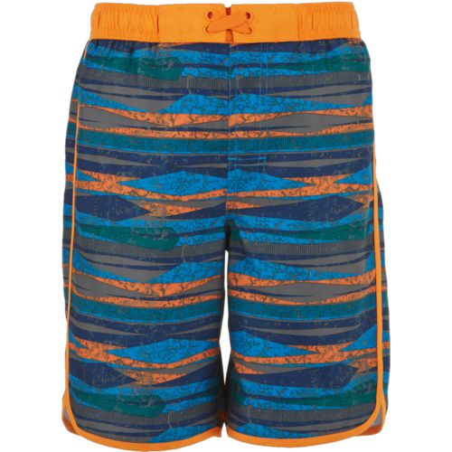 O'Rageous Boys' Geo Blast Scalloped Boardshorts