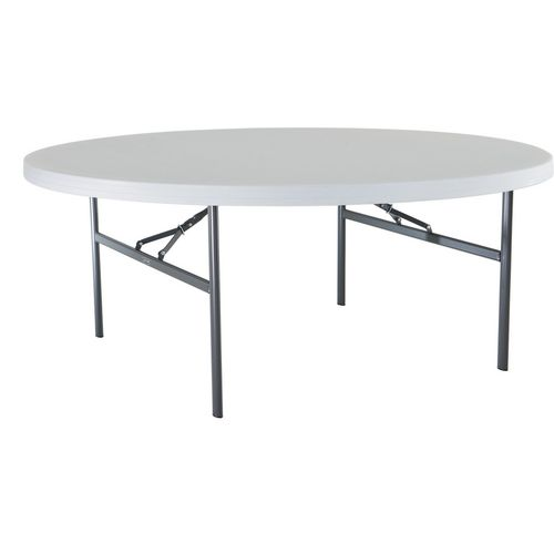 Lifetime 72 in Commercial Round Banquet Table