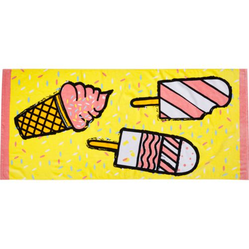 O'Rageous Ice Cream Beach Towel
