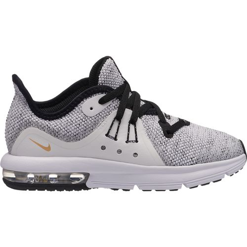 Nike Boys' Air Max Sequent 3 Preschool Running Shoes - view number 2