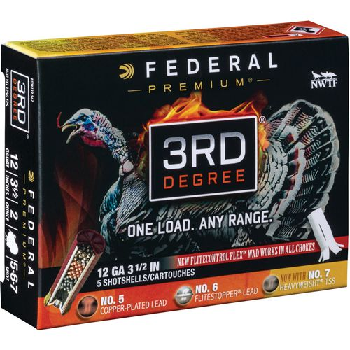 Federal Premium 3rd Degree 12 Gauge Shotshells