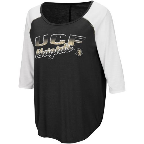 Colosseum Athletics Women's University of Central Florida Draw A Crowd Baseball T-shirt