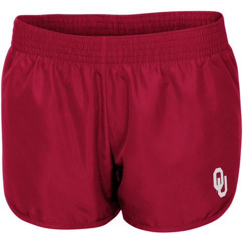 Colosseum Athletics Women's University of Oklahoma Reflective Logo Shorts - view number 1