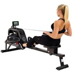 Sunny Health & Fitness Obsidian Surge Water Rowing Machine - view number 2