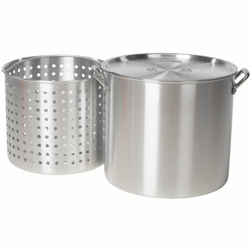 Outdoor Gourmet 60 qt. Aluminum Pot with Strainer
