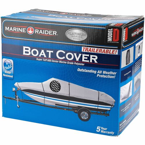 Marine Raider Platinum Series Model D Boat Cover For 17' - 19' V-Hulls And Runabouts - view number 2