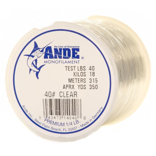 ANDE® Premium 40 lb. - 350 yards Monofilament