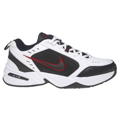 release date: a7235 acdb8 Nike Men s Air Monarch IV Training Shoes (White Black, Size 13) - Men s  Training Shoes at Academy Sports