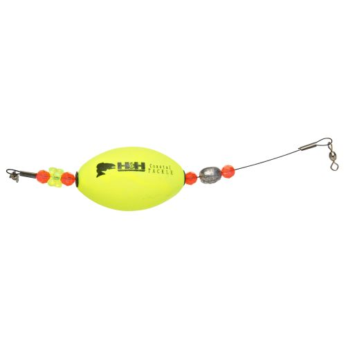 "H&H Lure 2-1/2"" Weighted Oval Flex-A-Floats 2-Pack"