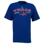 Majestic Men's Texas Rangers Cooperstown Nostalgia T-shirt