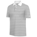 adidas Men's ClimaLite® 2-Color Striped Polo Shirt