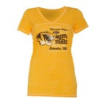 Step Ahead Blue 84 Women's Missouri Bo V-neck T-shirt