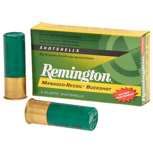 Remington Express Managed-Recoil 12 Gauge Buckshot Shotshells