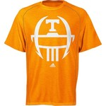 adidas Men's University of Tennessee Sideline Helmet Short Sleeve T-shirt
