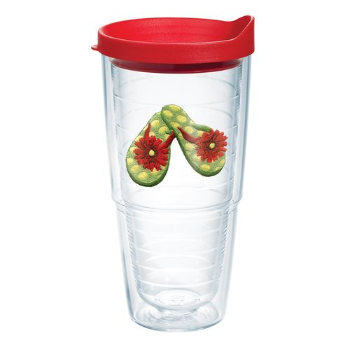 Tervis Green Dot FlipFlops 24 oz. Tumbler with Lid