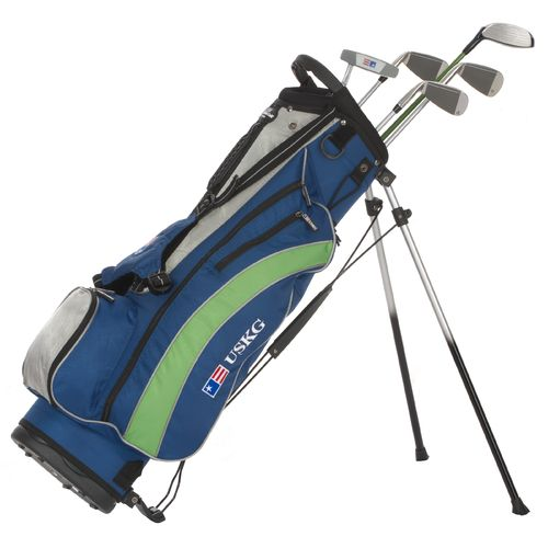 U.S. Kids Golf Girls' 5-Club Stand Bag Set