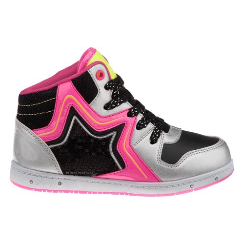Pastry Kids Girls' Rockstar Fashion High-Top Athletic Lifestyle Shoes