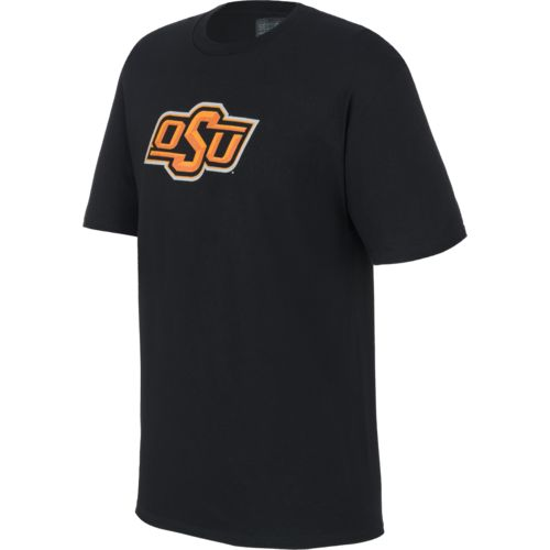 Majestic Men's Oklahoma State University Section 101 Arch Mascot T-shirt