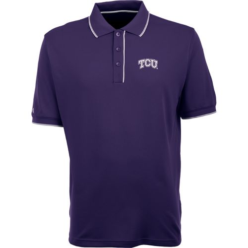 Antigua Men's Texas Christian University Elite Polo Shirt