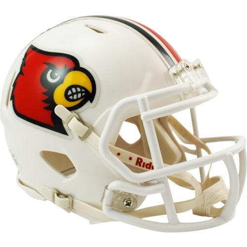 Riddell University of Louisville Speed Mini Helmet
