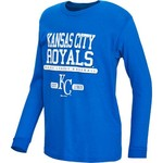 Stitches Kids' Kansas City Royals Long Sleeve Heather Top
