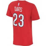 adidas™ Men's New Orleans Pelicans Anthony Davis #23 Net Number T-shirt