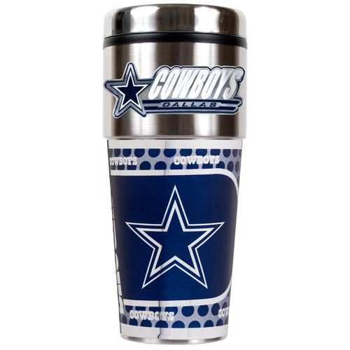 Display product reviews for NFL Dallas Cowboys 16 oz. Travel Tumbler