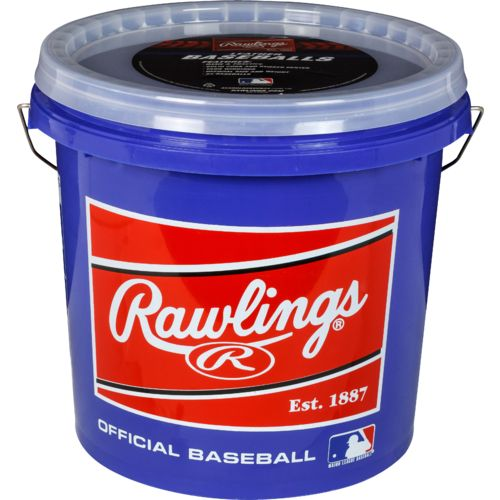 Rawlings® Official League Practice Leather Baseballs 24-Pack