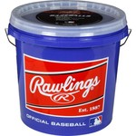 Rawlings® Official League Practice Baseballs 24-Pack