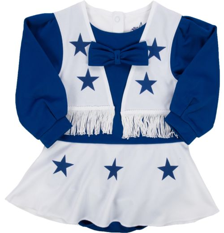 Dallas Cowboys Toddler Girls  Cheer Uniform