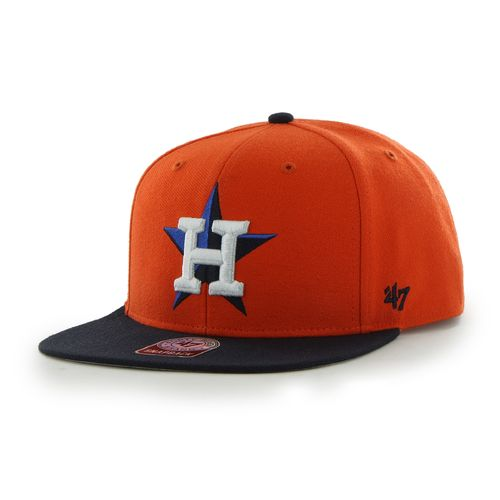 '47 Men's Houston Astros Sure Shot 2-Tone Captain Cap