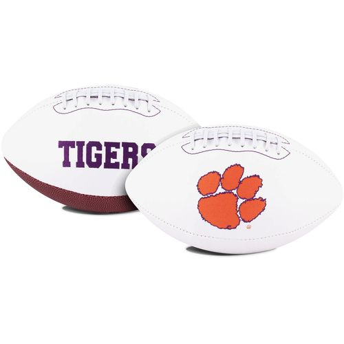 Jarden Sports Licensing Clemson University Signature Series Full Size Football with Autograph Pen - view number 1