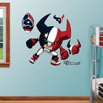 Fathead Houston Texans Rusher Decals 5-Pack