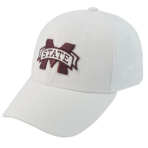 Top of the World Adults' Mississippi State University Premium Collection Memory Fit Cap - view number 1