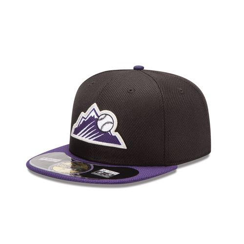 New Era Men's Colorado Rockies 2015 Diamond Era Cap