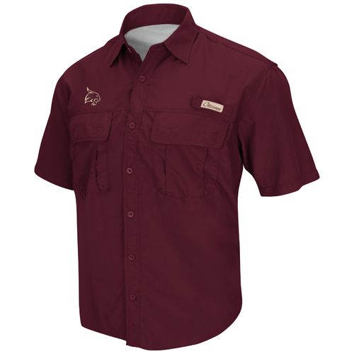 Colosseum Athletics Men's NCAA Team Swivel Fishing Shirt