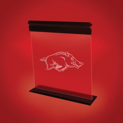AES Optics University of Arkansas Acrylic LED Light
