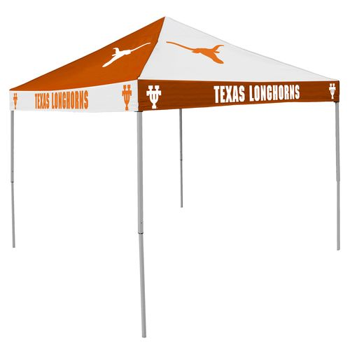 Logo™ University of Texas Straight-Leg 9' x 9' Checkerboard Tent