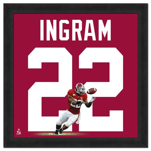 "Photo File University of Alabama Mark Ingram #22 UniFrame 20"" x 20"" Framed Photo"