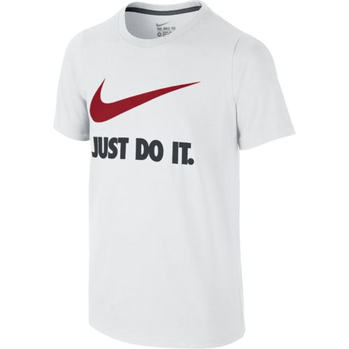 Nike Boys' Just Do It Swoosh T-shirt