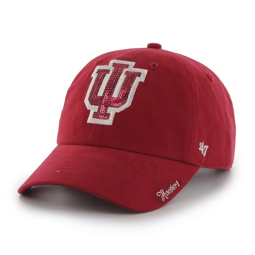 '47 Women's Indiana University Sparkle Clean Up Cap