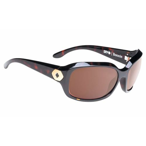 SPY Optic Women's Bonnie Classic Tort Happy Sunglasses