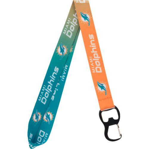 Pro Specialties Group Miami Dolphins Ombré Lanyard