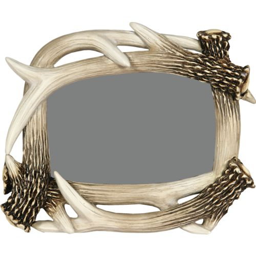 "River's Edge Products 4"" x 6"" Antler Picture Frame"