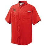 Columbia Sportswear Men's University of Louisville Tamiami™ Short Sleeve Shirt