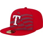 New Era Men's Texas Rangers Stars and Stripes 4th of July 59FIFTY Cap