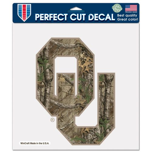 WinCraft University of Oklahoma Perfect Cut Camo Decal