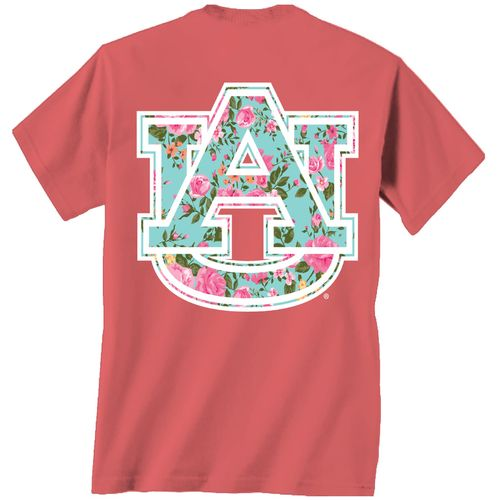 New World Graphics Women's Auburn University Floral T-shirt - view number 1